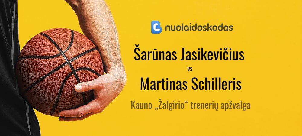 Šarūnas Jasikevičius VS Martinas Schilleris