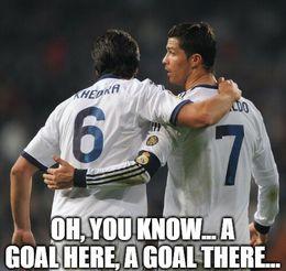 Goal here memes
