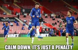 Just a penalty memes