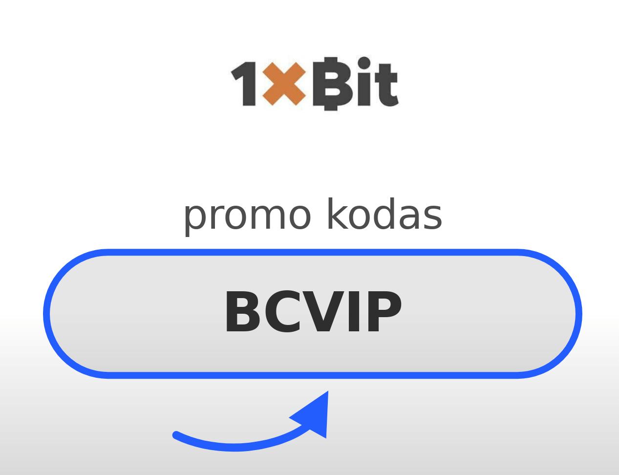 1XBIT Promo Kodas